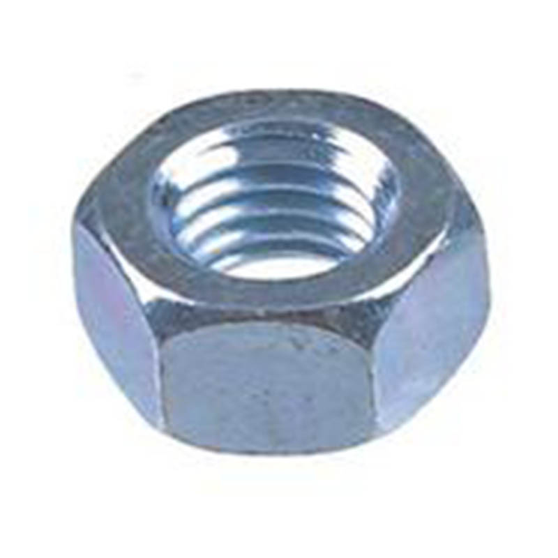 M3 BZP Hexagon Full Nuts - DIN934